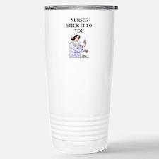 nursing Stainless Steel Travel Mug