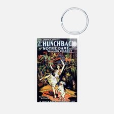 Hunchback of Notre Dame Aluminum Photo Keychain