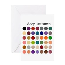 color analysis card deep autumn
