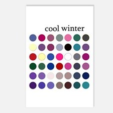 color analysis cards (Pack of 8) cool winter