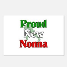 Proud New Nonna Postcards (Package of 8)