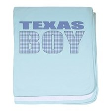 Texas Boy baby blanket