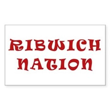Ribwich Nation Rectangle Decal