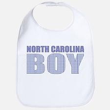 North Carolina Boy Bib
