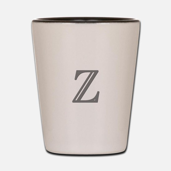 Letter Z Shot Glass