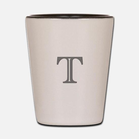 Letter T Shot Glass