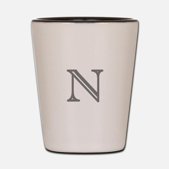Letter N Shot Glass