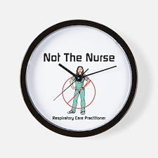 Not the nurse Wall Clock