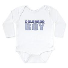 Colorado Boy Long Sleeve Infant Bodysuit