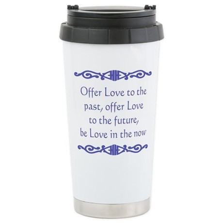 Offer Love Stainless Steel Travel Mug