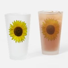 Helaine's Sunflower Drinking Glass