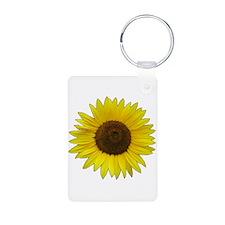 Helaine's Sunflower Keychains