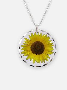 Helaine's Sunflower Necklace