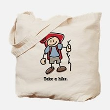 Cute Take a Hike Tote Bag