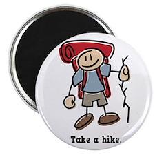 """Cute Take a Hike 2.25"""" Magnet (10 pack)"""