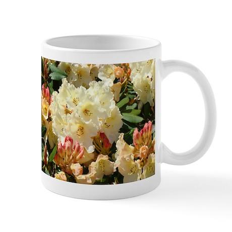 Rhodies Flowers Rhododendrons Mug