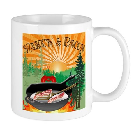 Waken and Bacon Mugs