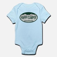 Happy Camper Colo License Plate Infant Bodysuit