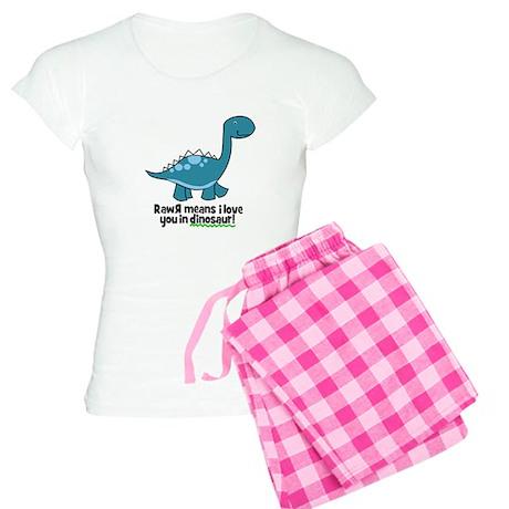 Dinosaur Women's Light Pajamas