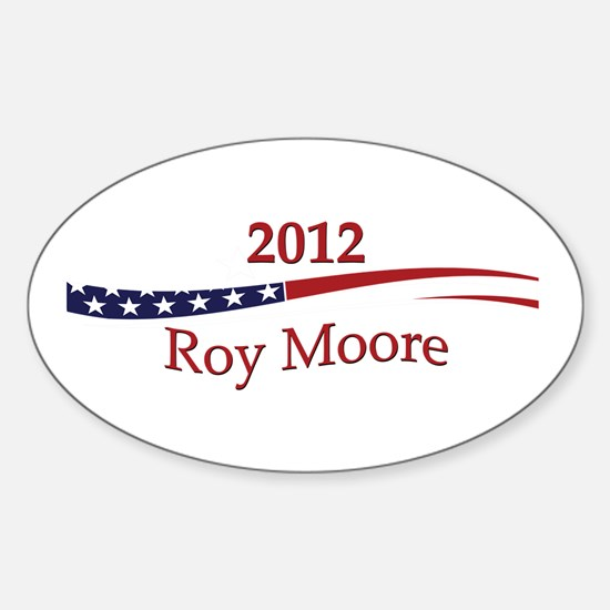 Roy Moore Sticker (Oval)