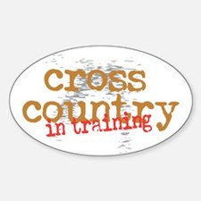 Cross Country Training Decal