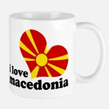 i love macedonia Mug