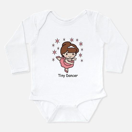Tiny Dancer Long Sleeve Infant Bodysuit