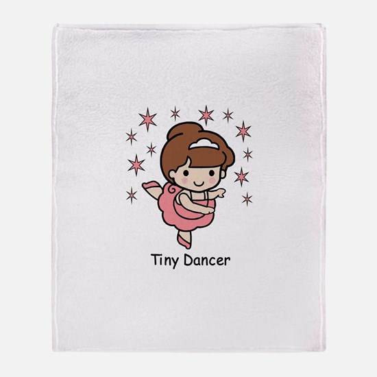 Tiny Dancer Throw Blanket