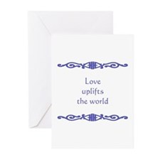 Love Uplifts Greeting Cards (Pk of 10)