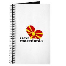 i love macedonia Journal