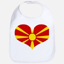 macedonian heart Bib
