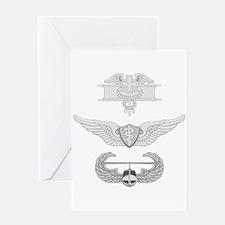 EFMB Flight Surgeon Air Assault Greeting Card