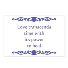 Transcends Time Postcards (Package of 8)