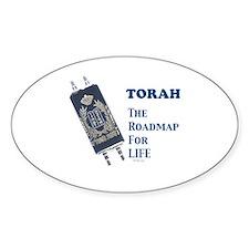 Torah Roadmap Jewish Decal