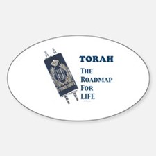 Torah Roadmap Jewish Decal