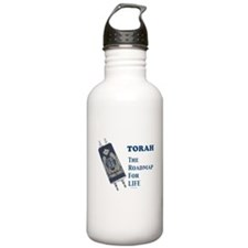 Torah Roadmap Jewish Water Bottle