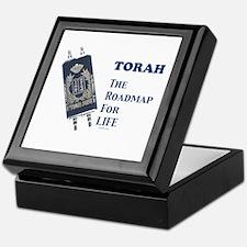 Torah Roadmap Jewish Keepsake Box