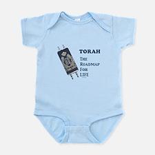 Torah Roadmap Jewish Infant Bodysuit