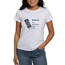 Torah Roadmap Jewish Tee