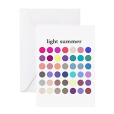 color analysis card light summer