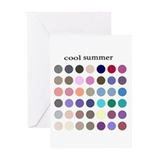 color analysis card cool summer