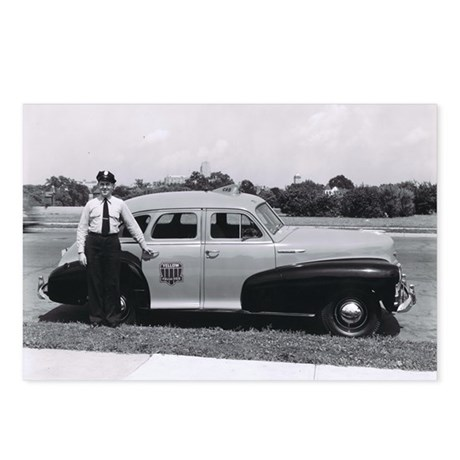 Yellow Cab Taxi Postcards (Package of 8)