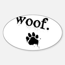 Woof Design Decal