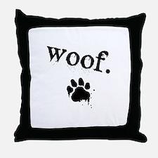 Cute Animals sounds Throw Pillow