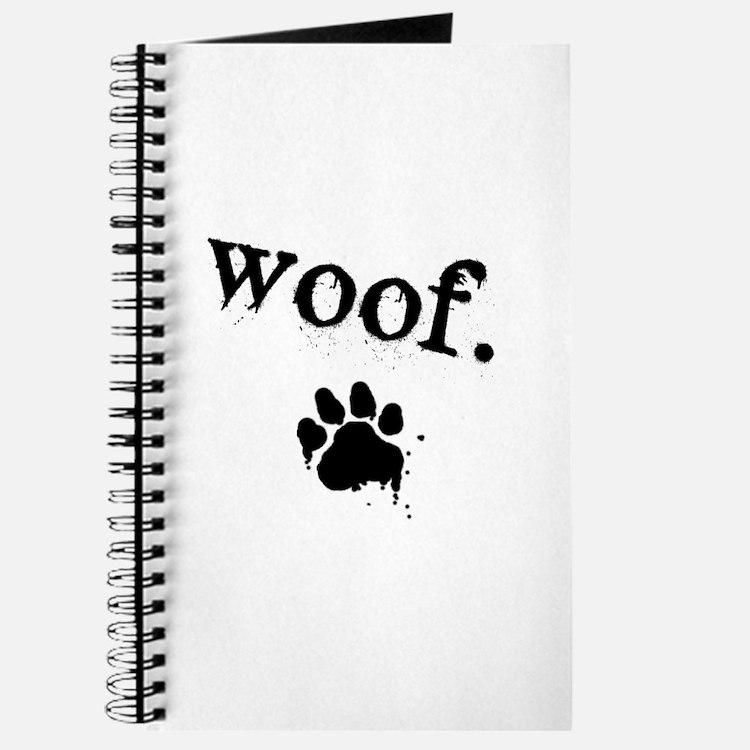 Cute Woof Journal