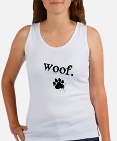 Cute Woof Women's Tank Top