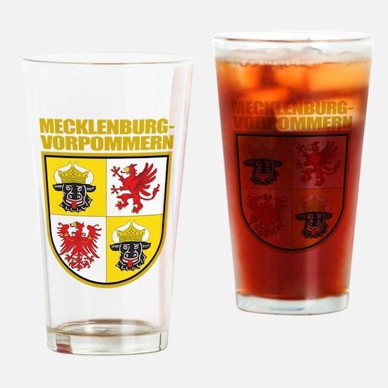 Mecklenburg-Vorpommern COA Drinking Glass