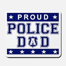 Proud Police Dad Mousepad