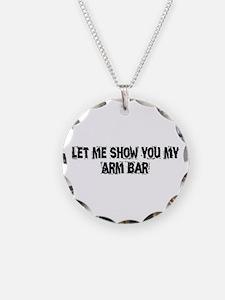 Arm Bar Necklace