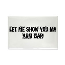 Arm Bar Rectangle Magnet (100 pack)